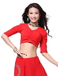 Ropa de algodón Belly Dance Top para damas (más colores)