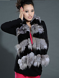 Rabbit Fur And Fox Fur Party/Casual Scarves