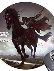Personalizado Rodada galope Steed Mouse Pad