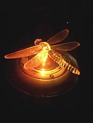 RGB Color Changing LED Solar Water Landscape Light Water Floating Light Garden Light Butterfly Design