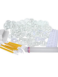 21sets (68pcs) Cake/Fondant Decorating Tools