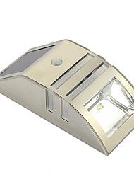 Capteur de mouvement solaire Super Bright LED Mur LED pour Cheminée Escalier Étape jardin Cour mur Chemin