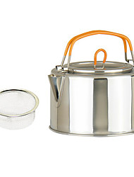 Outdoors 1L Stainless Steel Kettle