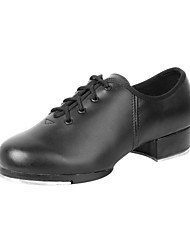 Men's Leatherette Dance Shoes For Tap/Ballroom
