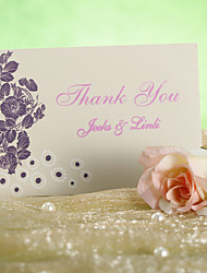 Thank You Card - Chic Flower (Set of 12)