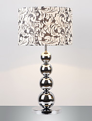 Contemporary Minimalist Table Lamp With Metal Balls Decoration