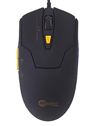 Optische Comfortabele 800/1200/1400/1600DPI Verwisselbare Wired USB Game Mouse