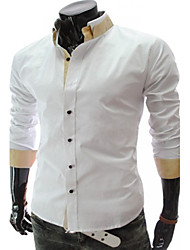 Men's Casual Shirts , Others Long Sleeve Casual REVERIE UOMO