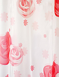 Cortina de ducha High Class Red Rose Print W71 x L71 ""