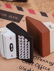 Macchina da scrivere a forma di nota clip (colore casuale)