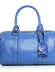 8th PINK Women's Cowhide Blue Vintage Shoulder Bag