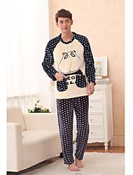 Men's Cute Bear Pattern Lounge Wear
