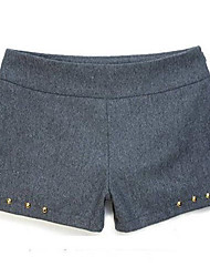Women's Shorts , Wool Casual/Work INNA