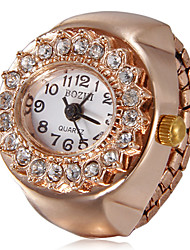 Montre Diamant Simulation Quartz Imitation de diamant Bande