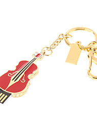 Metal Violin Feature USB Flash Drive 16GB