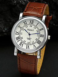 Men's Watch Dress Watch Roman Numerals Dial Wrist Watch Cool Watch Unique Watch