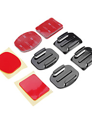 Adhesive Mounts Mount / Holder For Gopro 5 Gopro 3Skate Universal Auto Military Snowmobiling Aviation Film and Music Hunting and Fishing