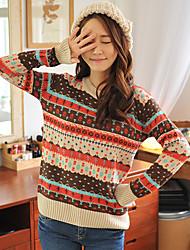 Maglione disegno geometrico delle HYS donne