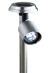 Cool White Light LED Steel Solar Spotlight Solar Lighting