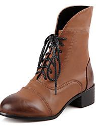 женская обувь борьбы коренастый пятки ботильоны больше цветов