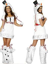 Traje de Navidad para Mujer Estilo Blancanieves