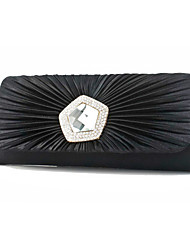Amazing Silk With Rhinestone Clutches/Evening Handbags(More Colors)