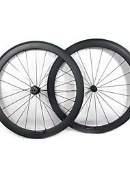 Farsports-700c stradali 50 millimetri Full Carbon strada della graffatrice delle rotelle di bicicletta