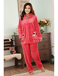 women's fleece warm lounge wear