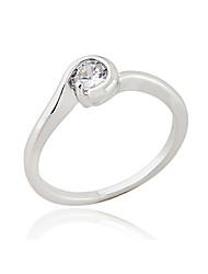 KU NIU Women's Gold Plating Zircon Ring J27034
