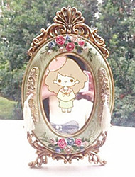 """10 """"Classic Style floral Polyresin table Mirror européenne"""