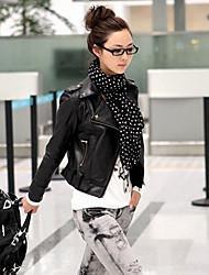 Women's Blazers & Sport Coats , PU Casual YIERFA