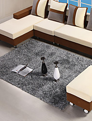 140*200cm Gray Contemporary Rug