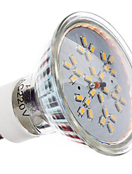 3W GU10 Spot LED MR16 30 SMD 3014 240 lm Blanc Chaud AC 100-240 V