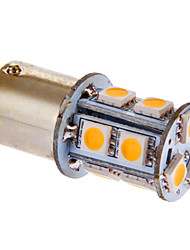 BA15s / 1156 3w 13x5050smd 117lm 3000-3500K lumière blanche chaude Ampoule LED pour la voiture (12v dc)