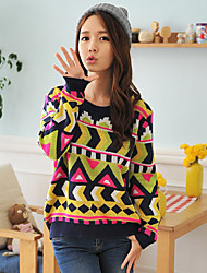 Women's Sweaters , Acrylic Casual HYS
