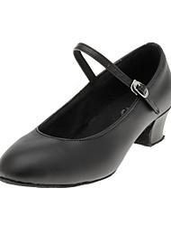 Femininos exclusivos couro superior de dança moderna Shoes
