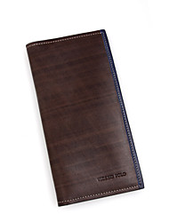 Videngpolo Men's Fashion Cow Leather Wallet T101