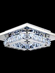 umei ™ привело кристалл заподлицо, 1 свет, современный прозрачный гальванических из нержавеющей стали