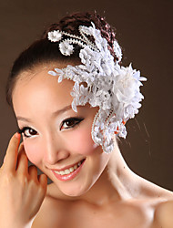 Women's Lace Headpiece-Wedding / Special Occasion Flowers