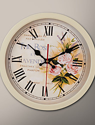 "12 ""H Bouquet Schilderij Wall Clock"