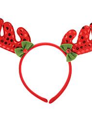 Coiffures de Noël David corne de cerf en forme (couleur aléatoire)