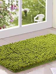 "Bath Rug Chenille 16x24"" Green"