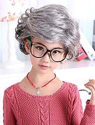 Parrucca senza cappuccio di Natale per bambini Modelling Lady