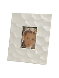 "8""White Color Family Style Polyresin Picture Frame"