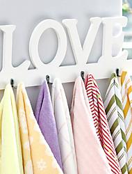 """8 """"Creative Amour mur de modèle de crochet (8 crochets)"""