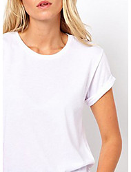 Frauen Sexy Cut Out T-Shirt
