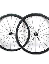 Farsports-700C strada del carbonio di 38mm Copertoncino Strada Ruote biciclette con freni in lega