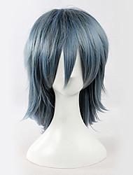 Ryou Kutani Cinza 38 centímetros Gothic Lolita peruca Inspirado por Hiiro não Kakera