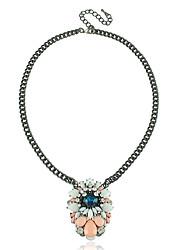 Women's Crystal Simulated Diamond Flower Fashion Yellow Green Blue Jewelry