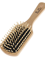 Middle Size Wooden Handle Flat Comb